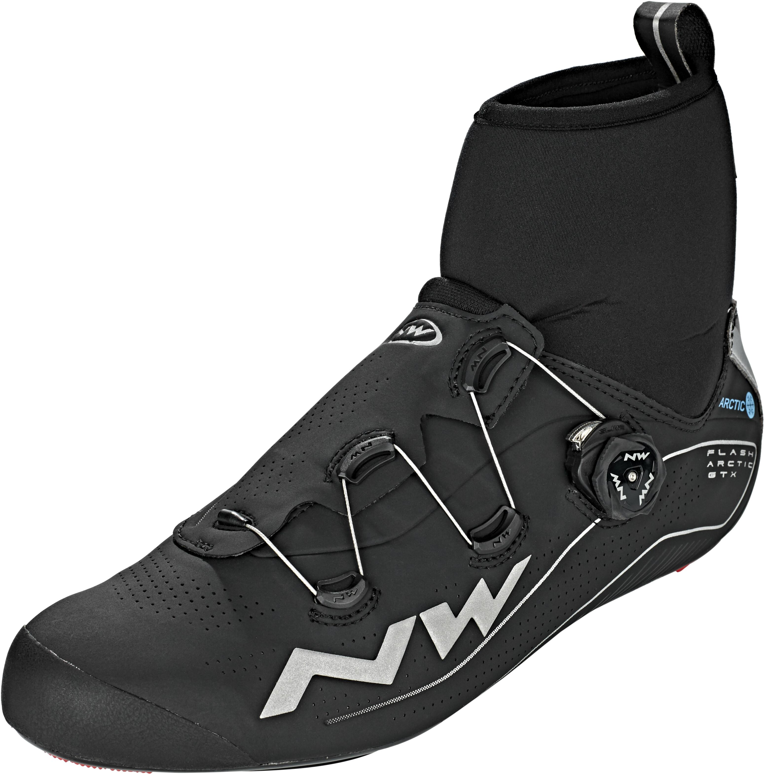 calidad asombrosa el mejor precios de remate Northwave Flash Arctic GTX Zapatillas de carretera Hombre, black